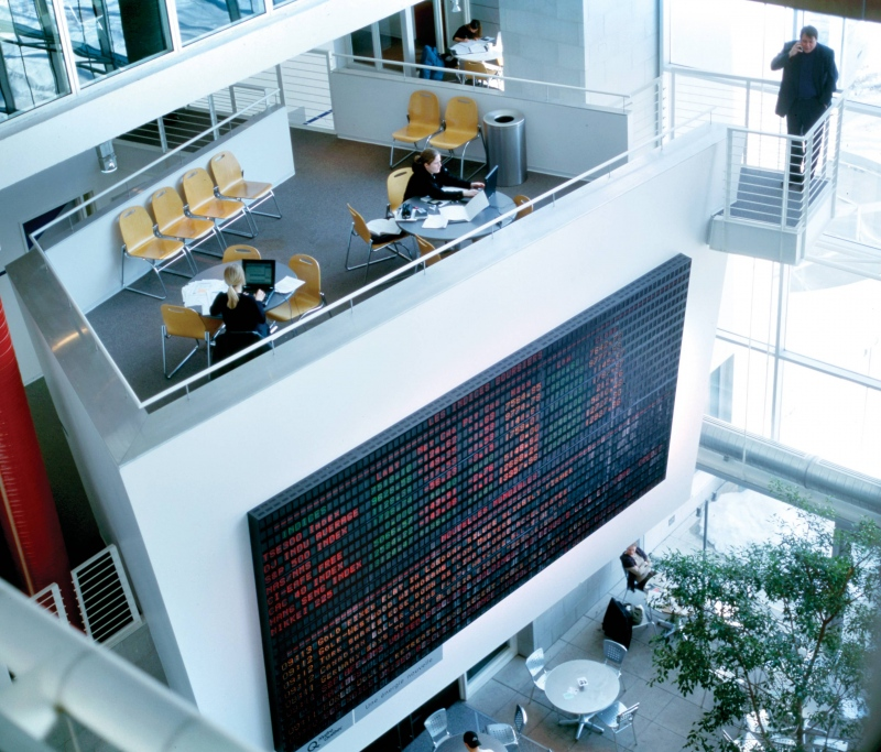 Atrium trading system